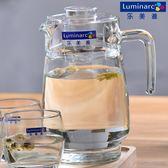 1.7L超大容量耐高溫涼水壺扎壺果汁壺透明玻璃冷水壺裝水壺  igo 可然精品鞋櫃