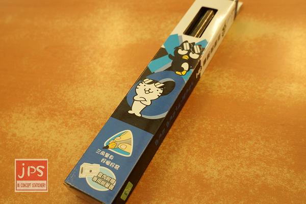BAD BADTZ 酷企鵝 三角學齡鉛筆 KRT-213675