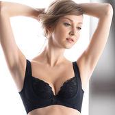 LADY 安布羅莎系列 機能調整型 E-F罩內衣(魅惑黑)