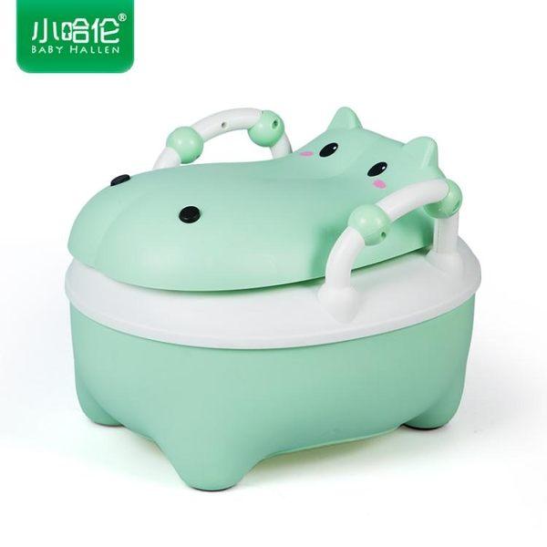 小哈倫加大號兒童坐便器嬰兒座便器女寶寶馬桶幼兒小孩男便盆尿盆 igo 露露日記