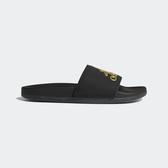 Adidas Adilette Comfort [B41742] 男女 涼鞋 拖鞋 運動 休閒 時尚 游泳 黑金 愛迪達