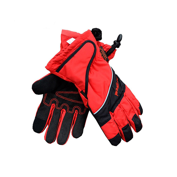 [Snow Travel] Ski-Dri 防水透氣超薄手套 (觸控) 紅 (AR-73-RED)