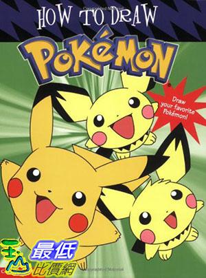[美國直購] 神奇寶貝 精靈寶可夢 暢銷書 How to Draw Pokemon Paperback