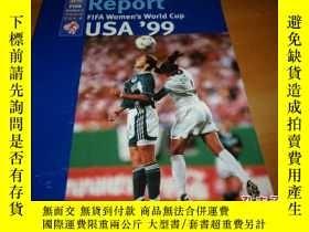 二手書博民逛書店Report罕見FIFA Women s World Cup U