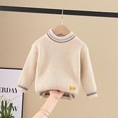 兒童毛衣 秋冬款兒童男童寶寶毛衣線衣套頭針織洋氣圓領小童女孩打底衫 交換禮物