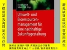 二手書博民逛書店Umwelt-罕見Und Bioressourcenmanagement Fur Eine Nachhaltige