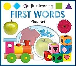 【寶寶拼圖書】FIRST LEARNING  FIRST WORDS PLAY SET/12片拼圖+大書 《主題:生活認知》