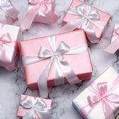 圣誕禮盒禮品堆頭圣誕節裝飾品禮物盒節日蝴蝶結道具小包裝盒【非凡】
