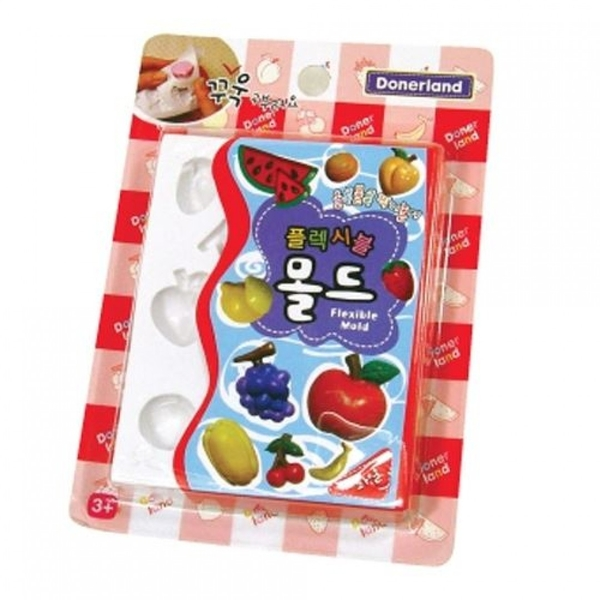 《 韓國 Donerland 》迷你矽膠黏土模型-水果 / JOYBUS玩具百貨