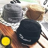 針織毛帽-時尚保暖加厚字母女毛線帽4色73ie39[時尚巴黎]