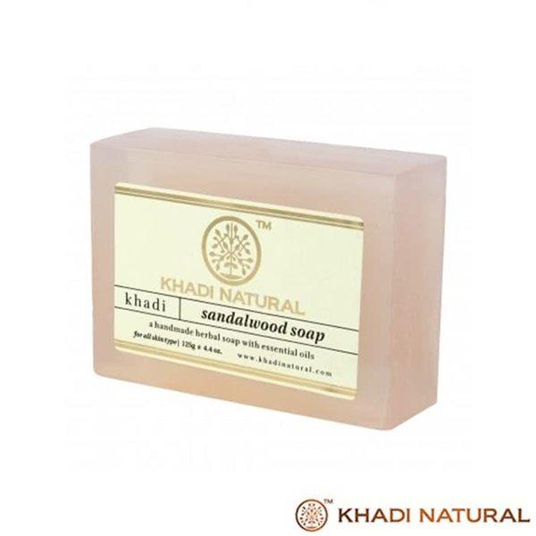 【印度Khadi】草本檀香手工精油香皂(1入)