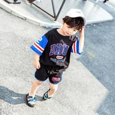 童裝男童夏裝套裝2018新款兒童短袖兩件套運動洋氣小童寶寶正韓潮《端午節好康88折》
