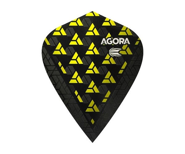 【TARGET】VISION ULTRA GHOST KITE AGORA Yellow 332540 鏢翼 DARTS