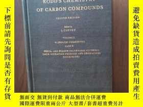 二手書博民逛書店RODD S罕見CHEMISTRY OF CARBON COMPOUNDS [volume 1]【布面精裝16開老