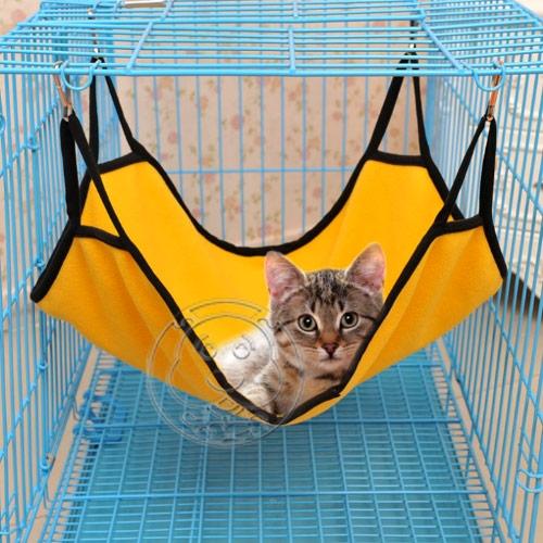 【培菓幸福寵物專營店】DYY》掛勾式兩用貓咪吊床(可掛龍)40*50cm