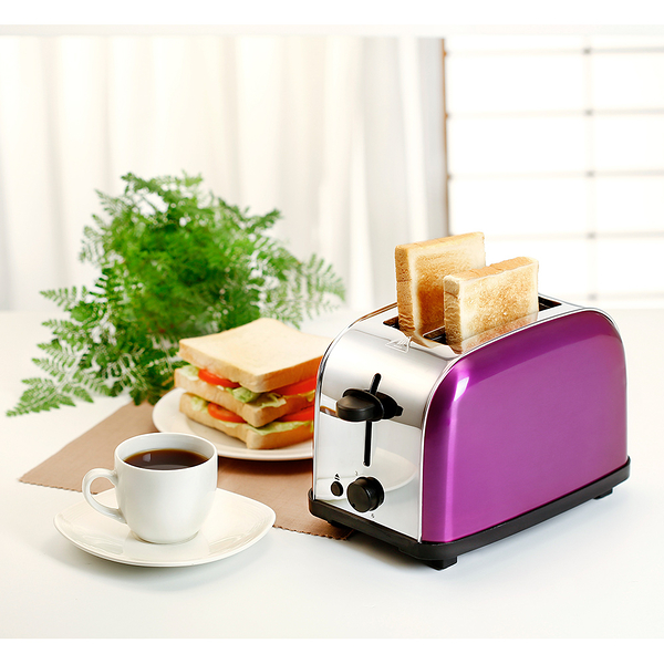 鍋寶 不鏽鋼烤麵包機(薄片) OV-580-D