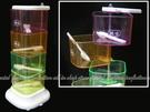 【DH455】創意 彩色旋轉式4格調味盒...