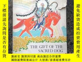 二手書博民逛書店連環畫冊The罕見gift of the sacred dog神