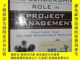 二手書博民逛書店Mastering罕見the Leadership Role i