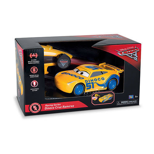 《 汽車總動員 Cars 》炫酷克魯茲遙控車╭★ JOYBUS玩具百貨