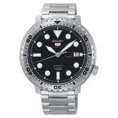 SEIKO 4R36-06N0D(SRPC61J1) 精工5號 男錶 機械錶 黑面/44.5mm