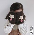 兒童手套 兒童手套冬季保暖加絨加厚卡通可愛小女孩連指春寶寶女童【快速出貨八折搶購】