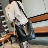 側背包包包女2019新款韓版大容量手提側背包女大包網紅水桶包斜背包 【限時優惠】