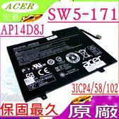 ACER 電池(原廠)-宏碁AP14D8J,Aspire  Switch 11電池, SW5-171電池,SW5-171P電池,3ICP4/58/102,31CP4/58/102