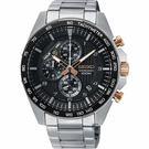 SEIKO精工 CS 重裝計時手錶-44mm 8T67-00H0KS(SSB323P1)