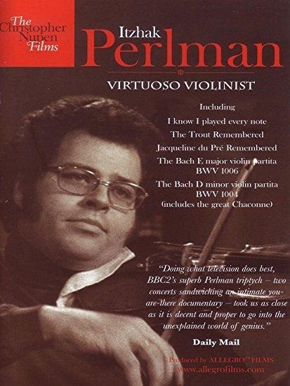 【停看聽音響唱片】【DVD】Itzhak Perlman:Virtuoso Violinist