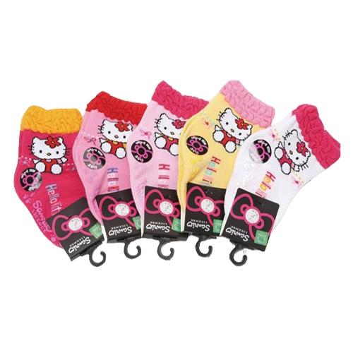 9-11 CM 彌月寶寶襪 KITTY三麗鷗 正版授權襪 (顏色隨機)