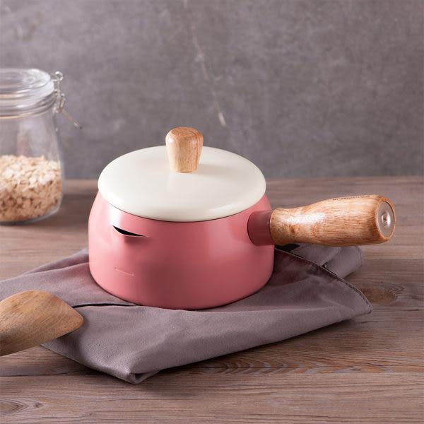 質感生活木柄牛奶鍋-生活工場