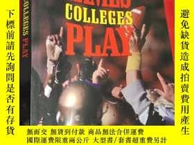 二手書博民逛書店Games罕見Colleges Play: Scandal and Reform in... (小16開)【詳見圖