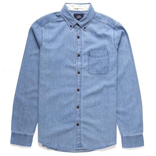 Deus Ex Machina Albie Denim Shirt 襯衫-男(藍)