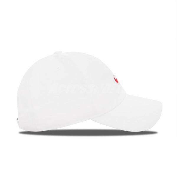 Nike 帽子 NSW Heritage86 Futura 白 紅 男女款 老帽 水洗 【ACS】 913011-121