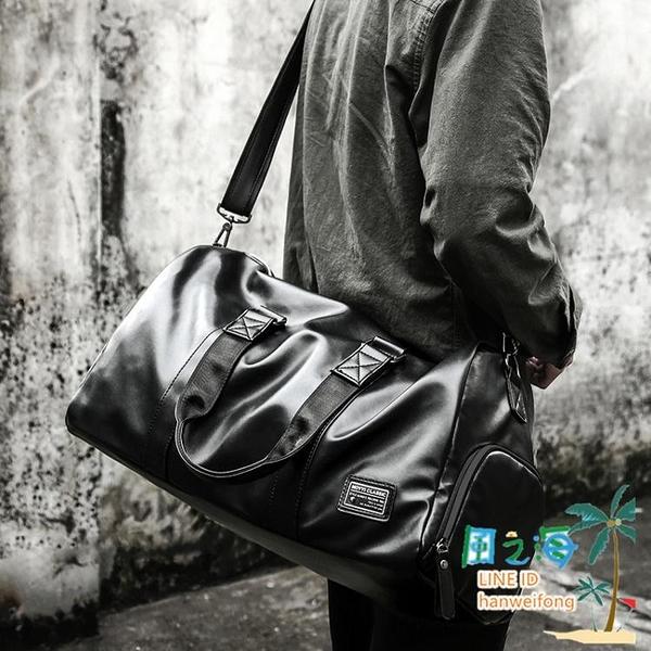 健身背包男運動訓練干濕分離手提包旅游出差旅行大容量行李袋男包【風之海】
