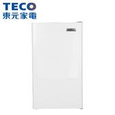 【TECO東元】99L單門電冰箱R1091W