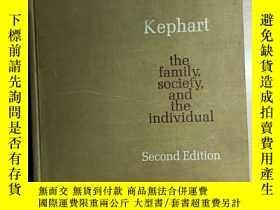 二手書博民逛書店the罕見family, society and the individualY324452 william