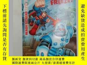 二手書博民逛書店dc罕見super friends brain freeze r
