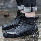 時尚雨鞋男潮低幫雨靴成人水鞋防滑