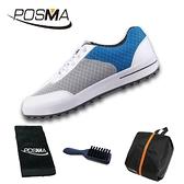 高爾夫鞋子女士球鞋 夏款 透氣 不起折痕 網布球鞋 GSH081BLU