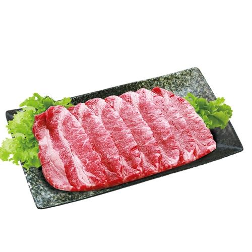 美國壽喜燒牛雪花肉片(300g±5%/盒)【愛買冷藏】