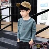 童裝男女童打底衫圓領毛衣兒童針織衫【聚可愛】