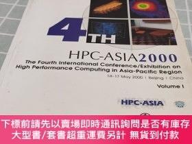 二手書博民逛書店HPC-ASLA罕見2000 The Fourth international Conference Exhibi