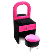時尚飾品架首飾盒歐式公主小家具收納盒-梳妝台