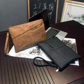 復古手包 韓版男女包 信封包手拿包 復古文件包公文包 潮男女手包