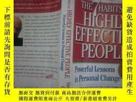 二手書博民逛書店The罕見7 Habits of Highly Effective People:Powerful Lessons