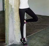 【全館八九折】健身褲女高腰春夏跳操瑜伽顯瘦黑色跑步運動九分彈力緊身大碼速干