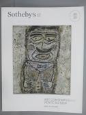 【書寶二手書T9/收藏_QFV】Sotheby s_Art Contemporain Vente Du Soir_201