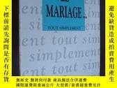 二手書博民逛書店法語原版:LE罕見MARIAGE...Y146810 Xavie